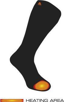 Apsildāmās zeķes Fire socks / vilna