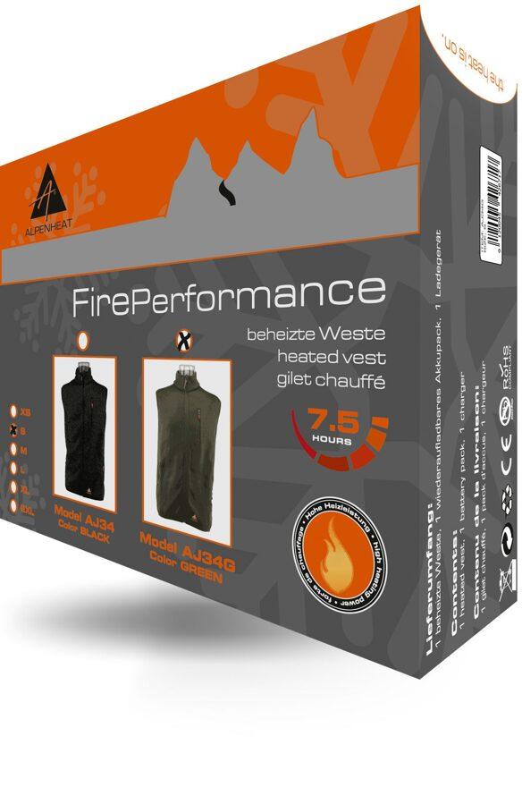 Apsildāmā veste Fire Performance